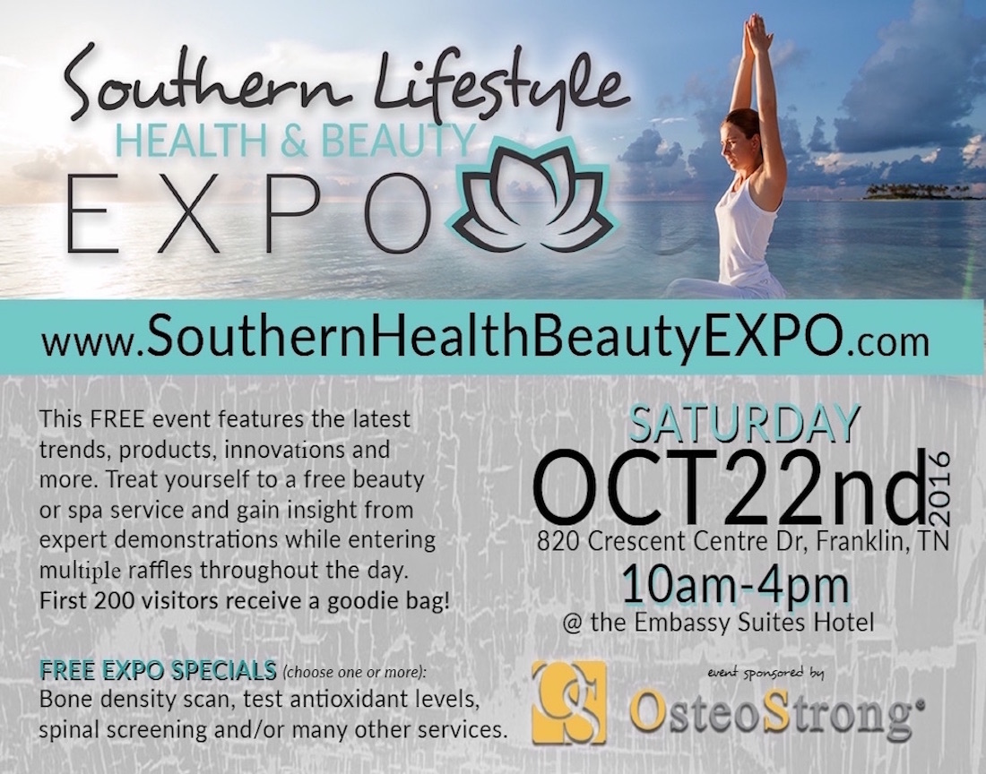 southern lifestyle health and beauty expo